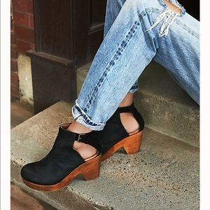 Free People Amber Orchard Clog black size 40